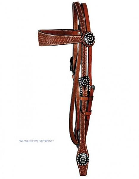Schutz Brothers Headstall Funky Style