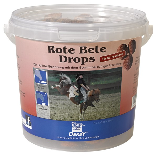 DERBY® Rote Beete Drops Leckerli