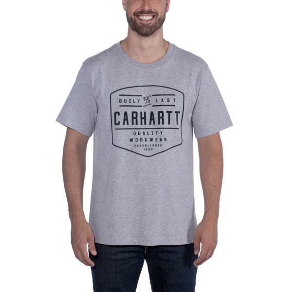 Carhartt WORKWEAR BUILD BY HAND LOGO SHORT SLEEVE T-SHIRT