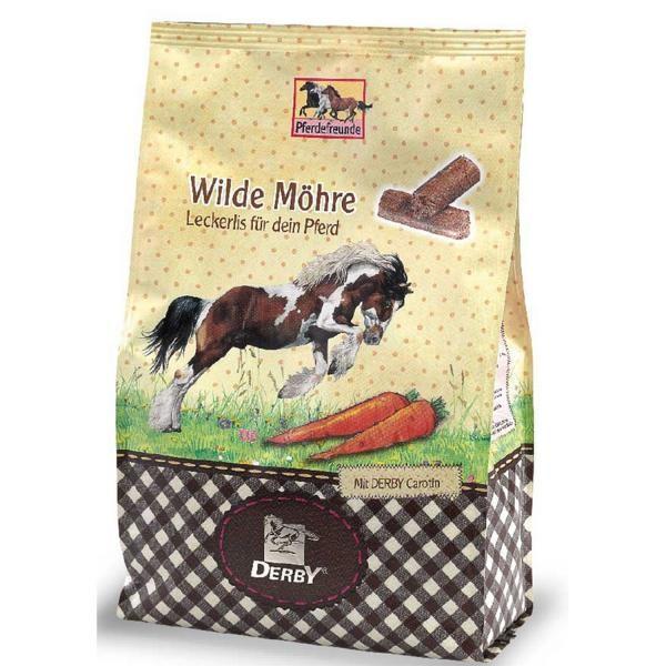 Derby Pferdefreunde Wilde Möhre Leckerli 0,9 kg