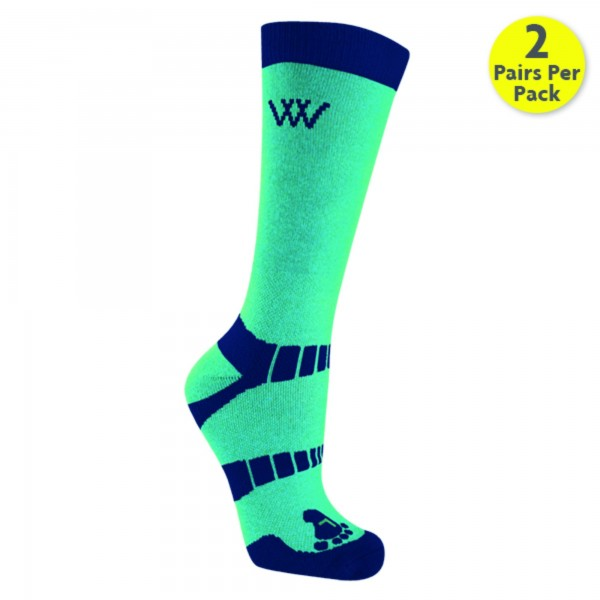 WOOF WEAR Bamboo Short Riding Socks