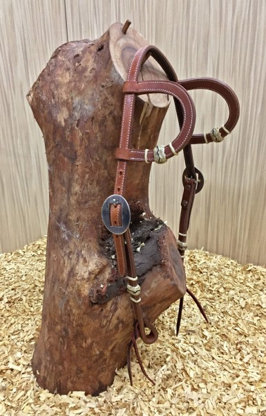 Buckaroo Braiding Sadesa Headstall Waterloop