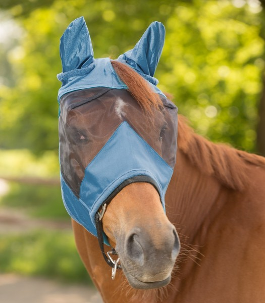 Premium Fliegenmaske mit Ohren