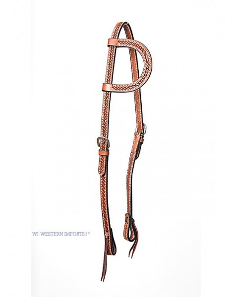 Western Imports TOOLED ONE EAR HEADSTALL