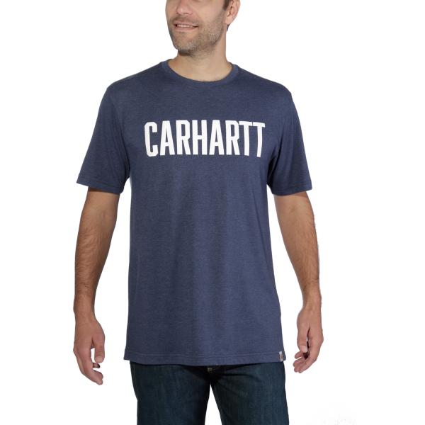 Carhartt BLOCK LOGO T-SHIRT S/S-Copy