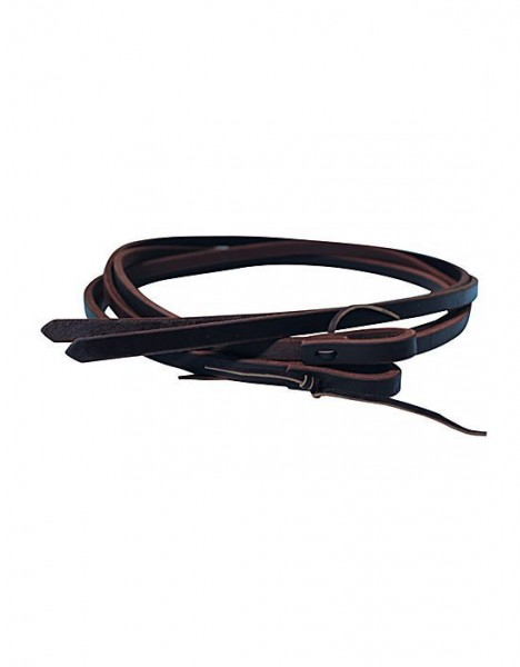Professional's Choice Split Harness Leather Reins Heavy Oil