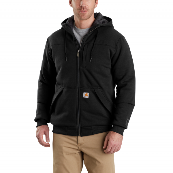 Carhartt ROCKLAND QUILT-LINED MIDWEIGHT FULL ZIP HOODED SWEATSHIRT
