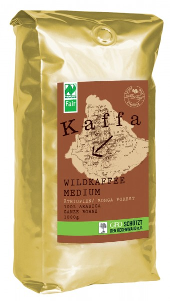 KAFFA Wildkaffee medium