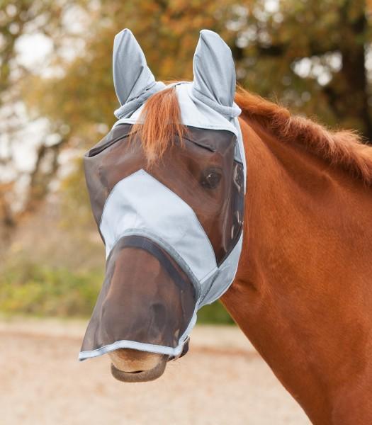 Premium Fliegenmaske mit Ohren - und Nasenschutz