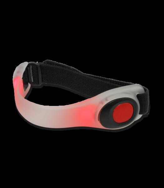 ELT LED Reflektorarmband, rot